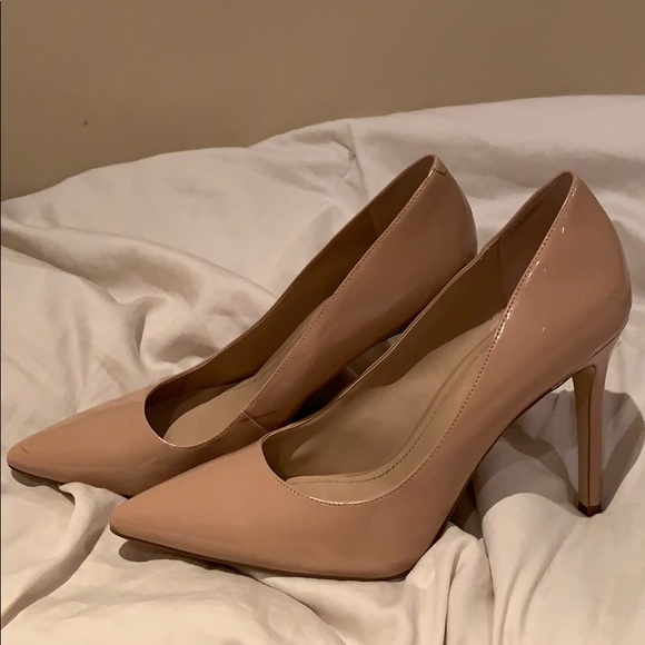 Bcbgeneration Nude Pointed Toe Heels